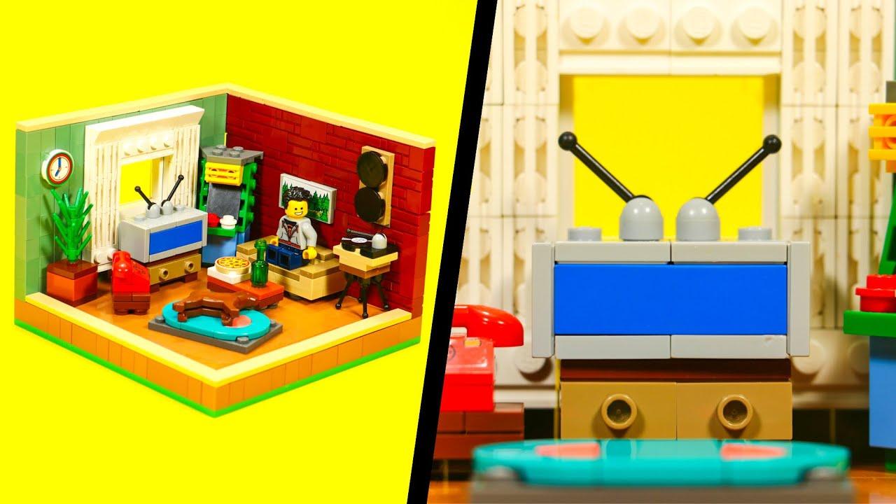 5 LEGO HOUSE Interior IDEAS