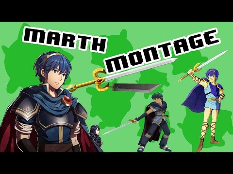 Marth Montage - SSB4 Wii U