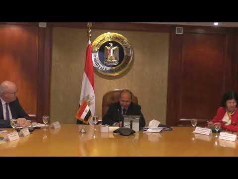 اجتماع الوزير/ عمرو نصار مع وفد المفوضية الأوروبية