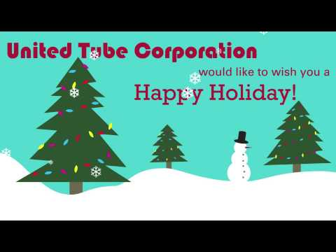 United Tube Corporation would like to wish you a happy holiday!