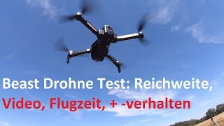 SG906 Beast Drohne Test: Reichweite, Flugverhalten, Kamera, Funktionen  Teil 1