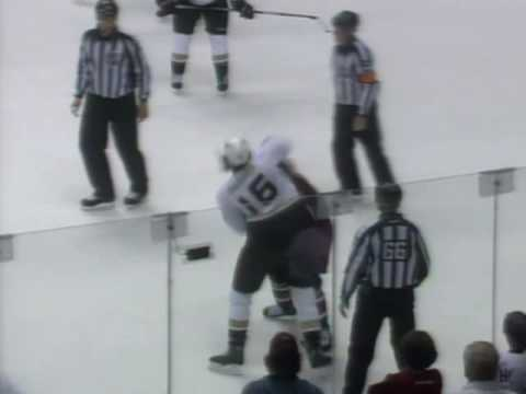 George Parros vs Paul Bissonnette