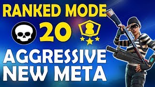 COMPETITIVE NEW AGGRESSIVE META | PUMP+HEAVY SOLO SHOWDOWN | HIGH KILL GAME-(Fortnite Battle Royale)
