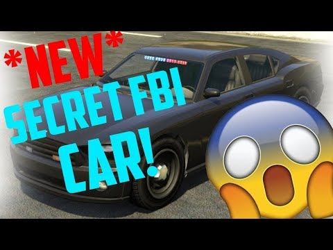 GTA 5 ONLINE-*GET RARE* FIB UNMARKED BUFFALO POLICE CAR!!AFTER PATCH 1.41