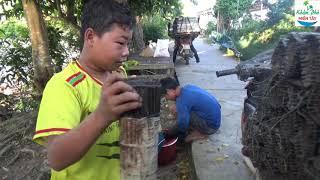 35 | Cậu Bé 13 Tuổi Chuyên Làm Nghề đặt Trúm Lươn | Sheltering The Eel