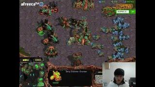 10.03.2016 Flash Vs Mong Game 1 ZvP FPVOD Starcraft Brood War