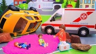 Машинки мультики для детей – Прогулка на автомобиле! Развивающие мультфильмы с игрушками