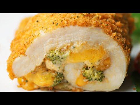 Broccoli Cheddar Chicken Roll-Ups