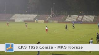 mylomza.pl | Przerwany mecz... ŁKS 1926 Łomża - MKS Korsze