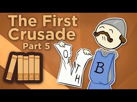 První křížová výprava: Obléhání Antiochie - Extra Credits
