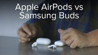 Samsung Galaxy Buds vs. Apple AirPods: How do they compare on the iPhone?