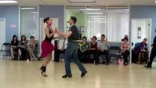 Egor Belashov & student Stefanie Showdance Oye Como Va