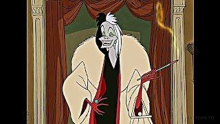 101 Dalmatians (1961) Scene: 'Cruella De Vil'.