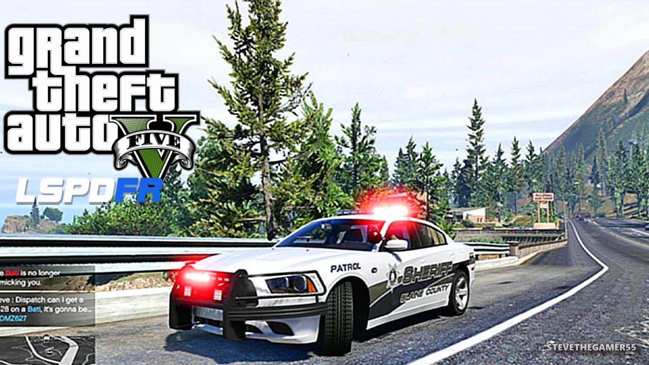 GTA 5 LSPDFR 0 3 1 - EPiSODE 82 - LET'S BE COPS - SHERIFF