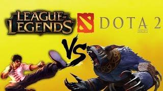DOTA 2 vs LEAGUE of LEGENDS! İki oyun arasındaki en önemli 10 FARK!