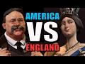 AMERICA VS ENGLAND!!   Civilization 6: AI Only 1v1 [Civ 6 Gameplay] Teddy VS Victoria!