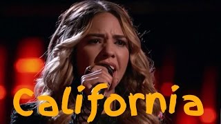 California Voices. Top 10 Blinds (The Voice USA compilation)