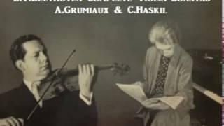 L.V.Beethoven Complete Violin-Sonatas [ A.Grumiaux & C.Haskil ] (1957)