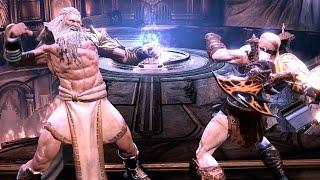 God of War 3 Remastered Walkthrough ZEUS Boss Fight  Ep 18