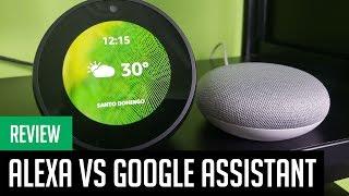 Amazon Alexa vs Google Assistant: ¿Cuál es mejor en español?