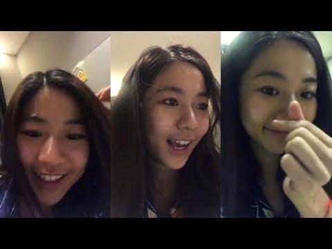 [Leenam IG Live : 26.10.2561] ลูกหมีอารมณ์ดี~ #Leenam #น้ำกัญญ์กุลณัช