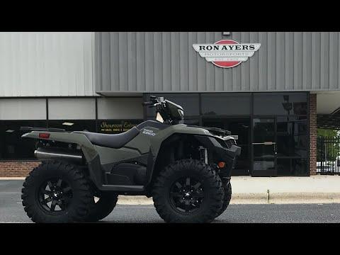 2021 Suzuki KingQuad 750AXi Power Steering in Greenville, North Carolina - Video 1
