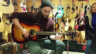 İSTANBUL' A AKUSTİK GİTAR ALMAYA GİTTİK ( Lag, Takamine, Fender, Peerless )