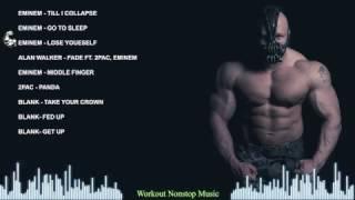 Hip Hop Workout Music Mix – Eminem Motivation Music
