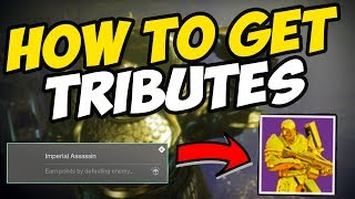 Destiny 2 How To UNLOCK TRIBUTES For THE TRIBUTE HALL | Moments Of Triumph 2019