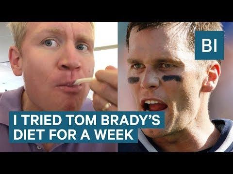 I Tried The Tom Brady Diet And Nutrition Plan