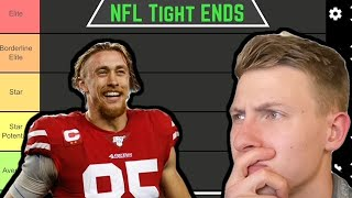 Ranking Every NFL Tight End.