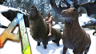 Ark survival evolved giganotosaurus taming ep27 ark survival ark survival evolved ep21 take shelter direwolf megaloceros taming snow biome malvernweather Image collections