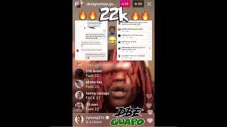 (22 Savage Diss) Dbe Guapo - 22k (Ig @Designerboy.Guapo)'( THE REAL STORY)'(Prod By.JEWFY)