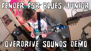 Fender Blues Junior Wine Red Amp Overdrive Demo