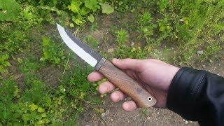 изготовление ножа из быстрореза Р6М5 (мехпилы) making knife of rapid steel