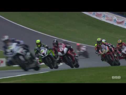 MCE BSB - R12 Brands Hatch GP Race 1 Highlights