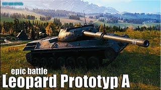 ЛЕОПЁРДАВЫЙ ДАМАГЕР 🌟 EPIC BATTLE 🌟 Leopard Prototyp A World of Tanks gameplay