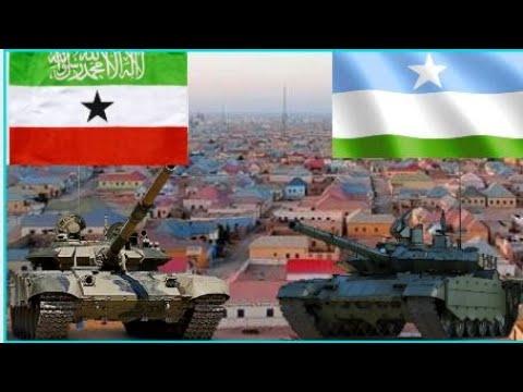 dagaal dhex-maray ciidanka Somaliland iyo Puntland