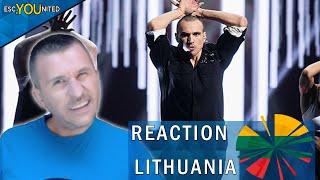Lithuania: Pabandom iš naujo!  | REACTION (Eurovision 2020)