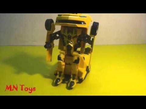 Trasformatori Giocattolo Bumblebee Rc Robot Deformazione Auto - Robot Giocattolo Trasformando Robot