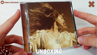 """Taylor Swift """"Fearless"""" (Taylor's Version) CD UNBOXING"""