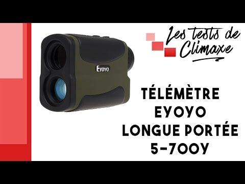 Test d'un télémètre Eyoyo 5-700Y de portée 640m