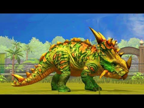 Jurassic World Game Mobile #62: Tiến hoá max cho PachyRhinosaurus