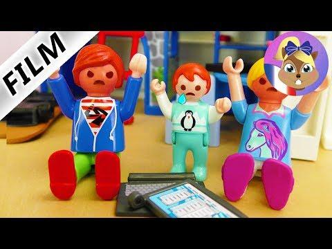 Film Playmobil en français - Code entre frères et soeurs! Emma ne peut pas cafter - Famille Brie