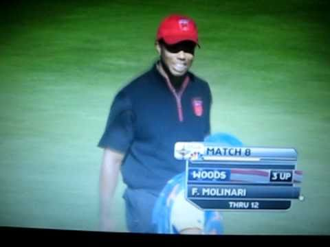 "Ryder Cup 2010 – Tiger Woods Eagle ""It went in?"""