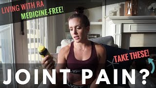 BEST SUPPS FOR JOINT PAIN / Managing Arthritis Without Medication!