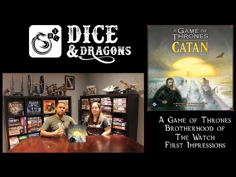 Dice and Dragons - A Game of Thrones Catan Brotherhood of the Watch