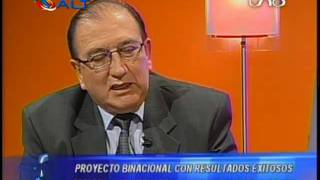 Julián Barra Catacora en la Red Uno de Bolivia 1/2