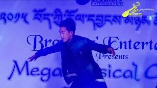 Tibetan Musical Concert 2015 @ Bylakuppe(1st Camp Boys Group Dance)