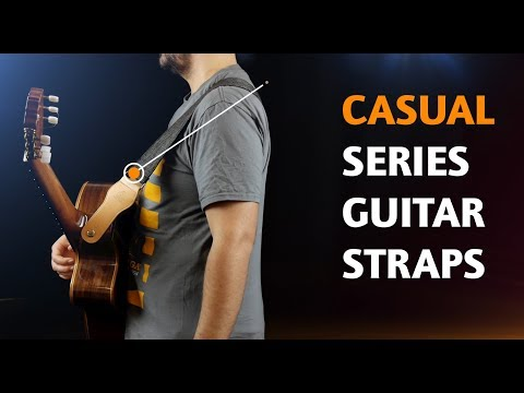 ORTEGA GUITARS | COTTON STRAPS FOR GUITAR (CASUAL SERIES)